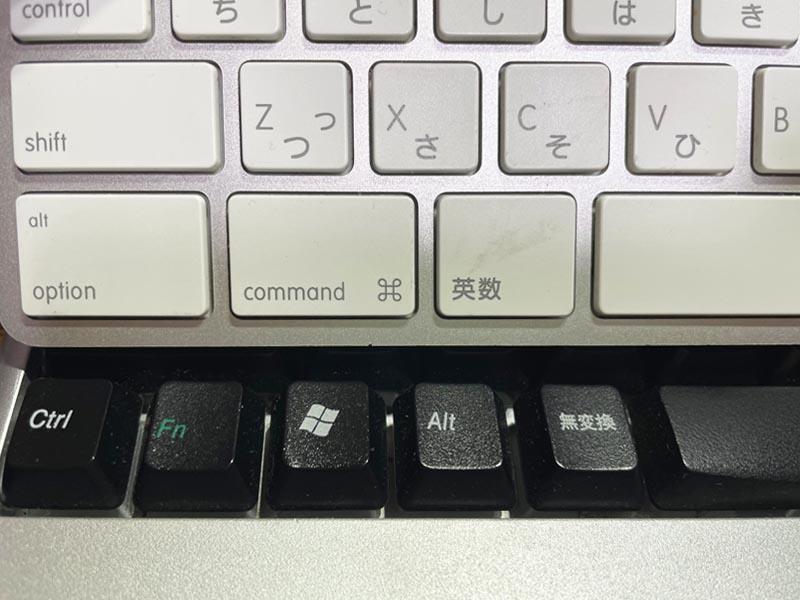 AppleのマジックキーボードをWindows PCで使ってみる