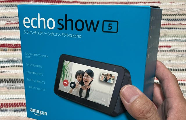 amazonプレイムデーに買ったもの その3・Echo Show